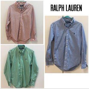 Bundle! 3 Polo Ralph Lauren Men's Button Downs